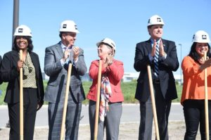 Jim Groundbreaking SLCC building 2